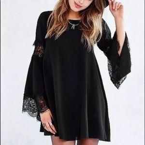 For Love & Lemons Le'veon M Lace Dress Bell Sleeve